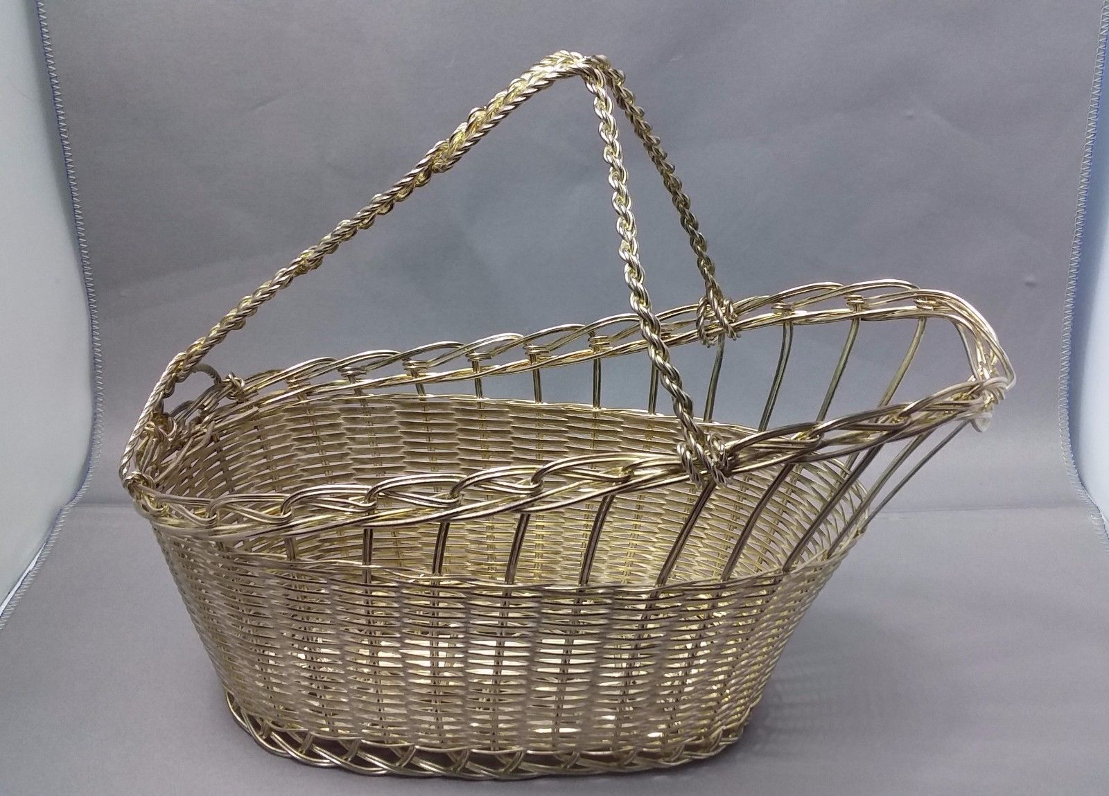Vintage Wire Basket Wine Bottle Carrier – Onzone Motorcycle Products ...